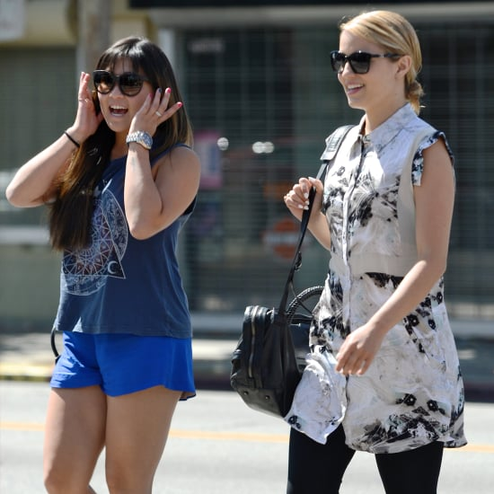 Glee Cast After Cory Monteith's Death | Pictures