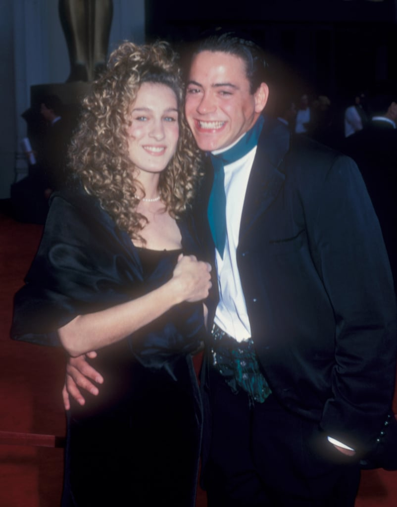 Sarah Jessica Parker and Robert Downey Jr.