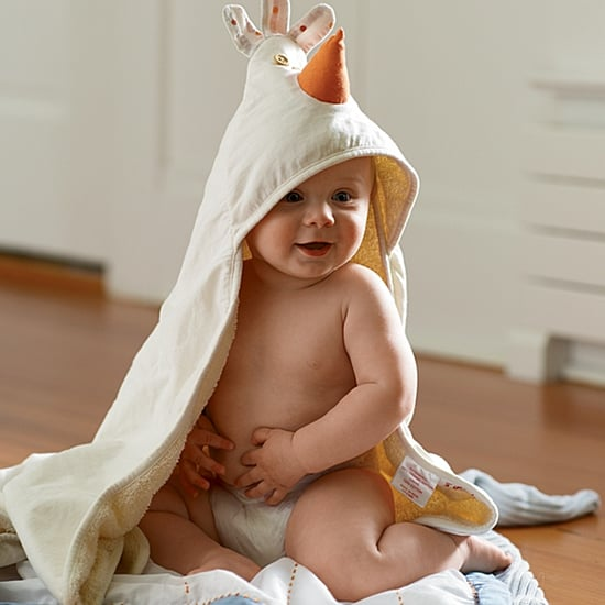 Hooded Baby Bath Towels