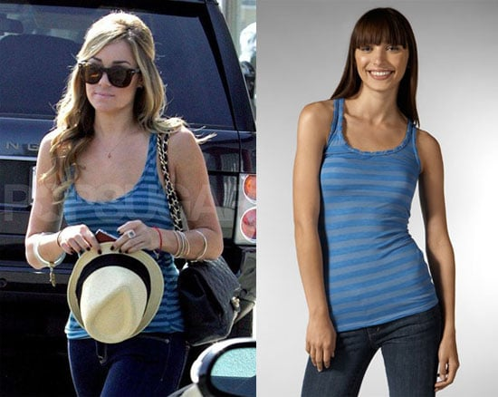 Found! LC's Blue Striped Tank
