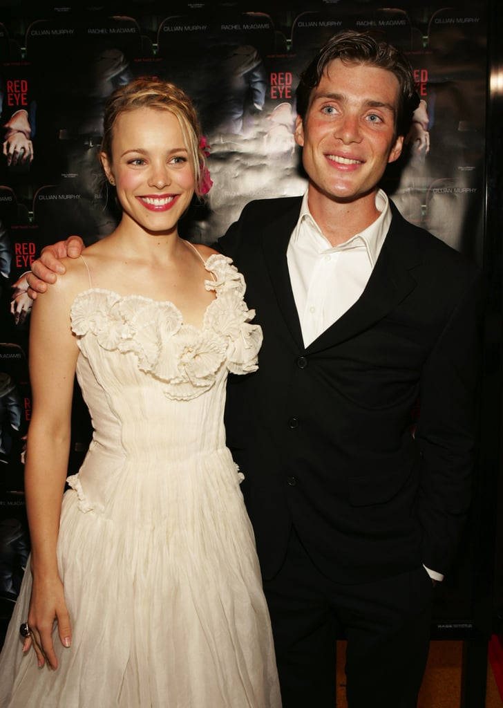 Rachel hit the red carpet with Cillian Murphy at the Red Eye premiere in August 2005.