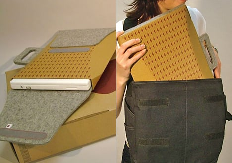 Totally Geeky or Geek Chic? Repackaged Laptop Case