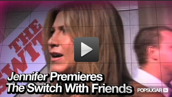 Video of Jennifer Aniston at The Switch Premiere in LA
