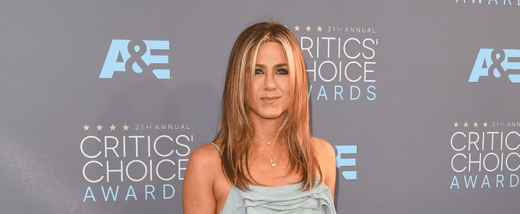 Jennifer Aniston's Flawless Hair Hasn't Changed Since the '90s