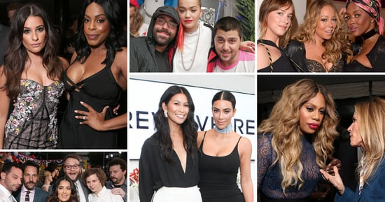 Laverne Cox and Mariah Carey Partied This Week