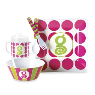 Mud Pie Feeding Set