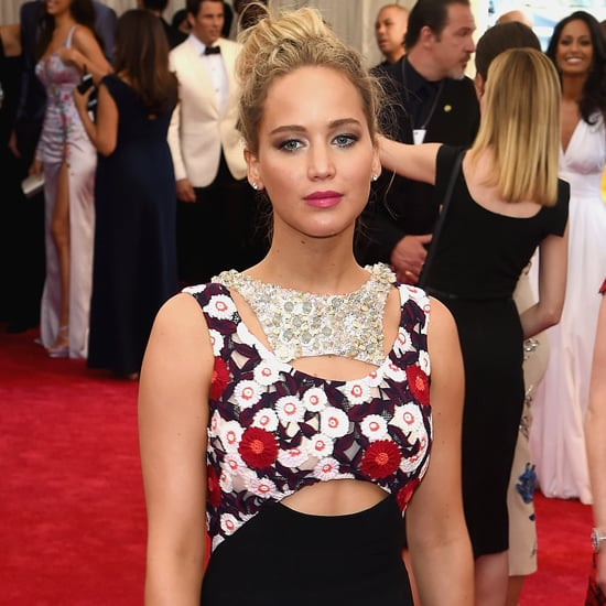 Jennifer Lawrence's Dior Dress at Met Gala 2015