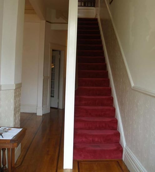 Before and After: Restoring a Victorian Staircase