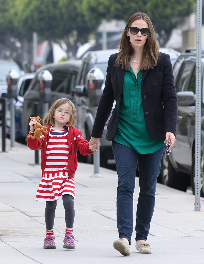 Jen Spends the Day With Seraphina While Ben Steps Out Solo