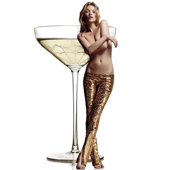 Kate Moss's Boobs Inspire This Champagne Glass