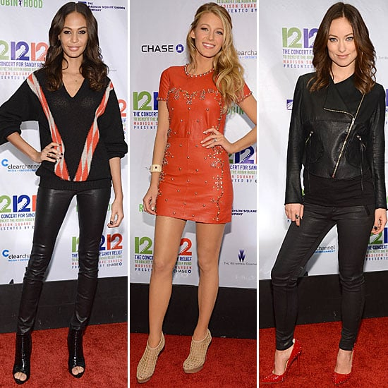 Celebs Rock Up to the 12-12-12 Concert in NYC: See The Style