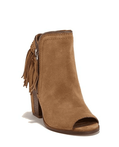 Dolce Vita Fringed Booties