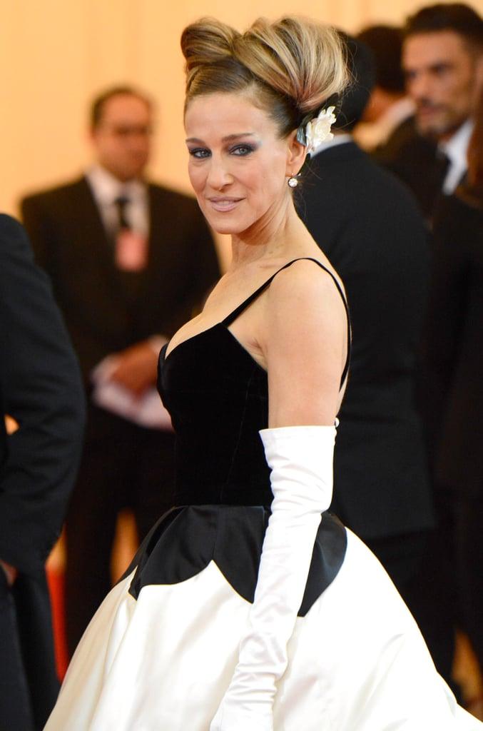 Sarah Jessica Parker in Oscar de la Renta