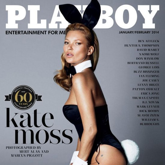 Kate Moss Playboy Cover With St Tropez Tan