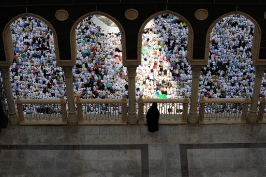 Pictures From Annual Muslim Pilgrimage to Mecca