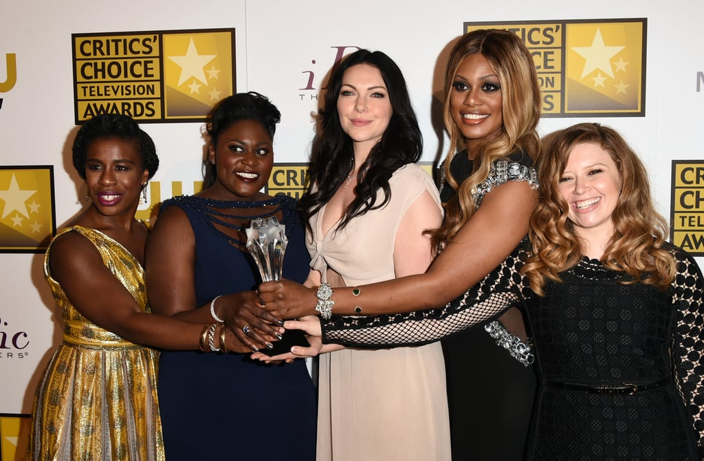 The cast of Orange Is the New Black took the trophy for best comedy series.