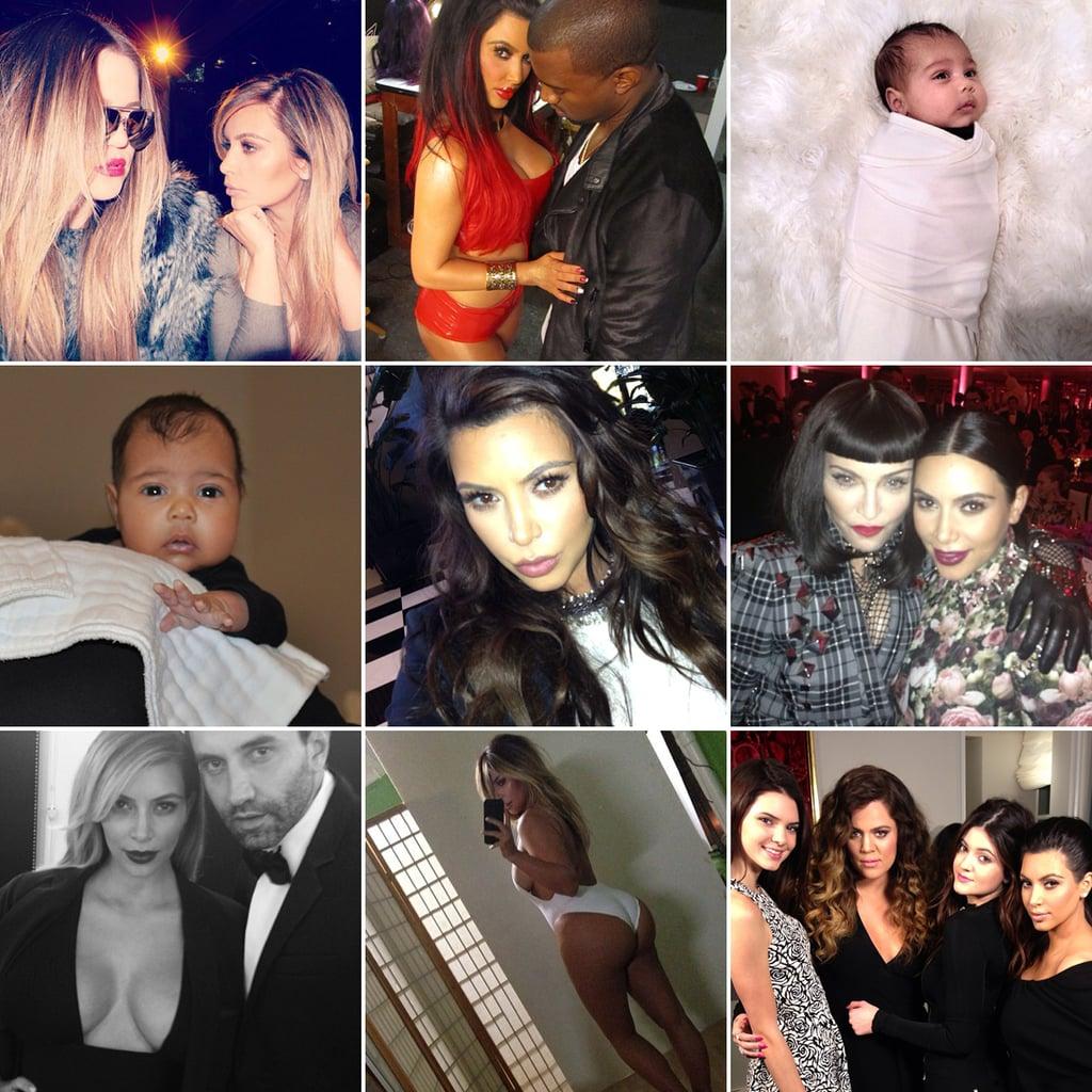 Kim Kardashian Is 33 Today —See Her Best Instagram Pics!