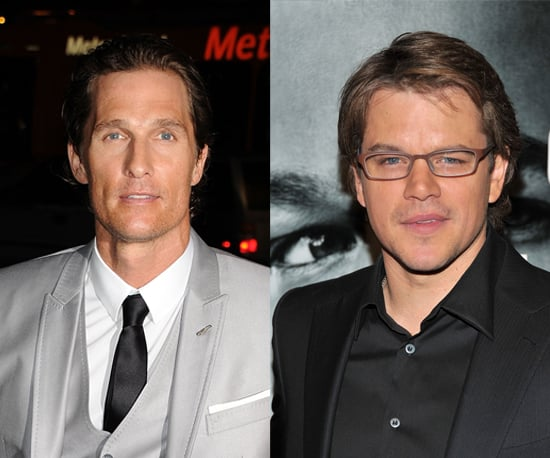 Matt Damon and Matthew McConaughey Talk About Being Dads