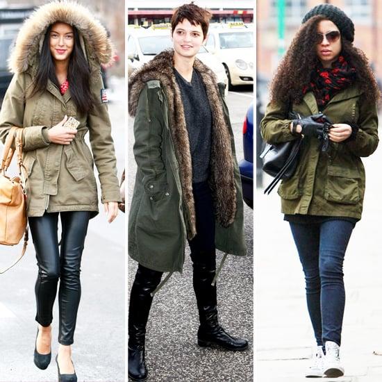 Trendy Army Coats for Winter