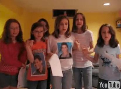 Teen Girls Freak Out When David Cook Wins American Idol