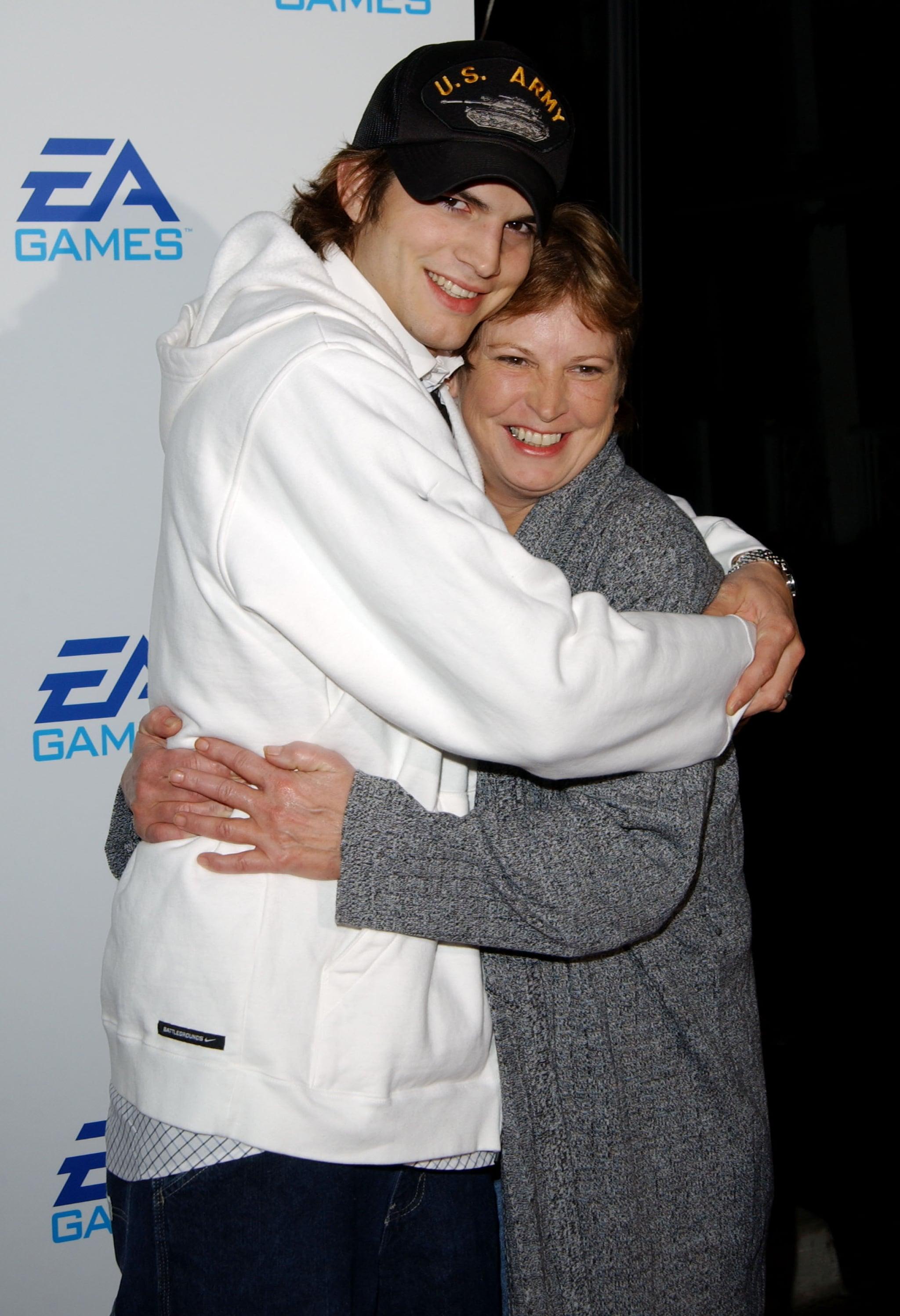 Ashton Kutcher and Diane Kutcher