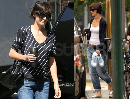 Photos of Katie Holmes Rehearsing For Broadway in NYC 2008-08-01 11:30:28