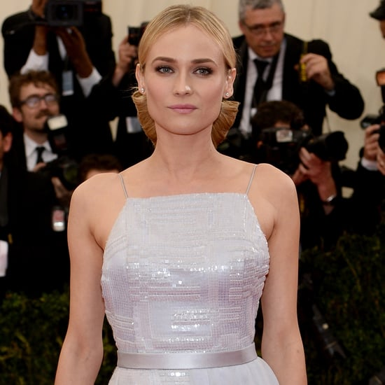 Diane Kruger and Joshua Jackson at the Met Gala 2014