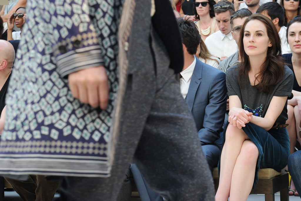 Michelle Dockery at Burberry
