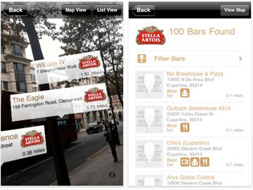 The Stella Artois iPhone App Makes Pub Crawls Effortless