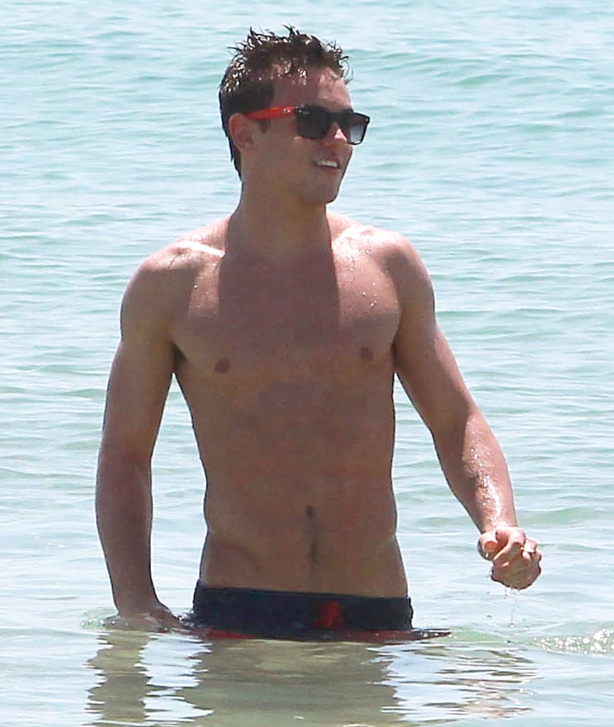 British heartthrob and diver Tom Daley went for a dip in May while in Miami.