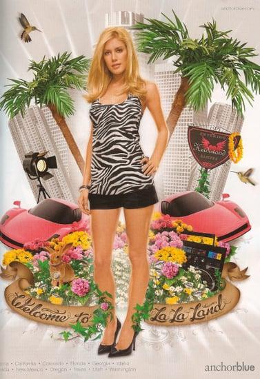 Freaky or Fabulous? Heidi Montag Anchor Blue Ad