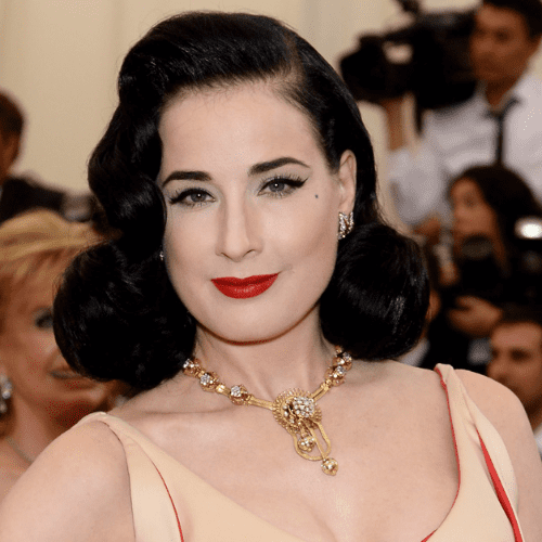 Dita Von Teese Designs Red Lipstick For MAC Cosmetics