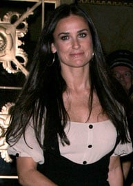 Demi Moore, Acting Doula?