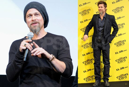 Brad Opens Up About His Inglourious Motorcycle Moment