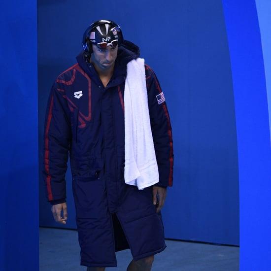Michael Phelps's Prerace Face Memes