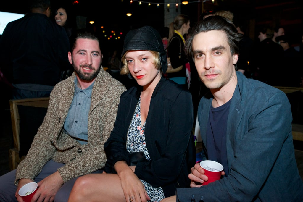 Chloë Sevigny attended the afterparty with friends.