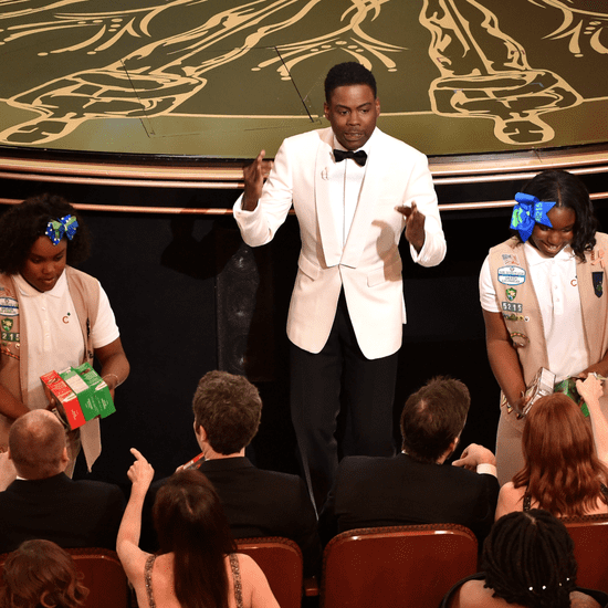 Chris Rock Sells Girl Scout Cookies at Oscars