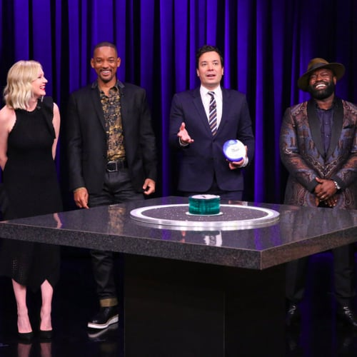 Will Smith and Kirsten Dunst Play Catchphrase Tonight Show