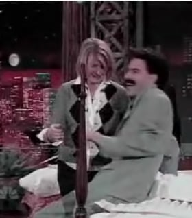Borat And Martha Get Sexy Between The Sheets