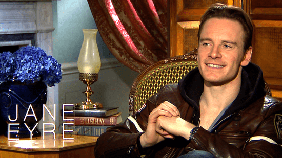 Jane Eyre's Michael Fassbender Is OK With Being a Sex Symbol and Wearing Loincloths