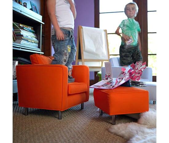 Tangerine Child's Chair