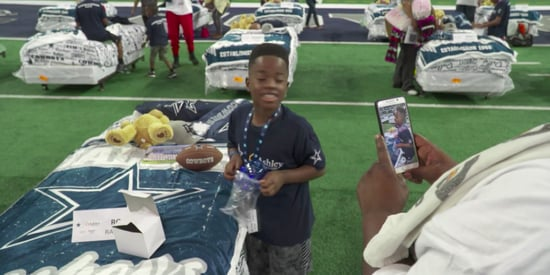 Kids In Need Get Free Beds After Slumber Party At Dallas Cowboys' Stadium