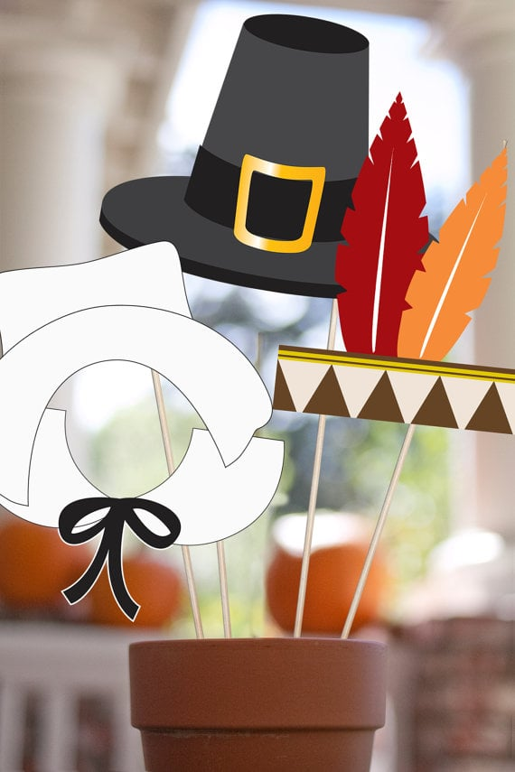 Thanksgiving Photo Props