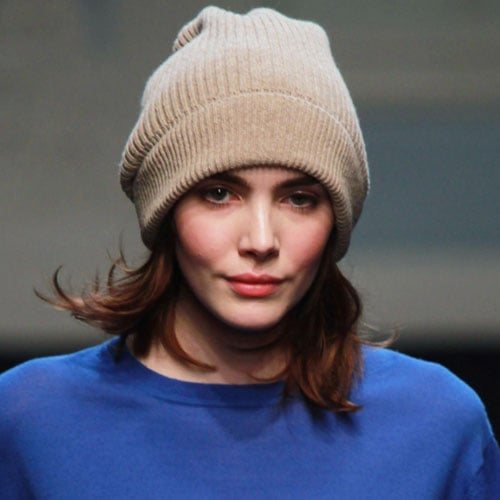 Preppy Chic Makeup at Paul Smith 2011 A/W Fashion Show