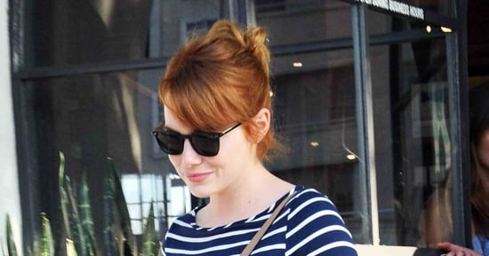Emma Stone is Back to Being a Redhead