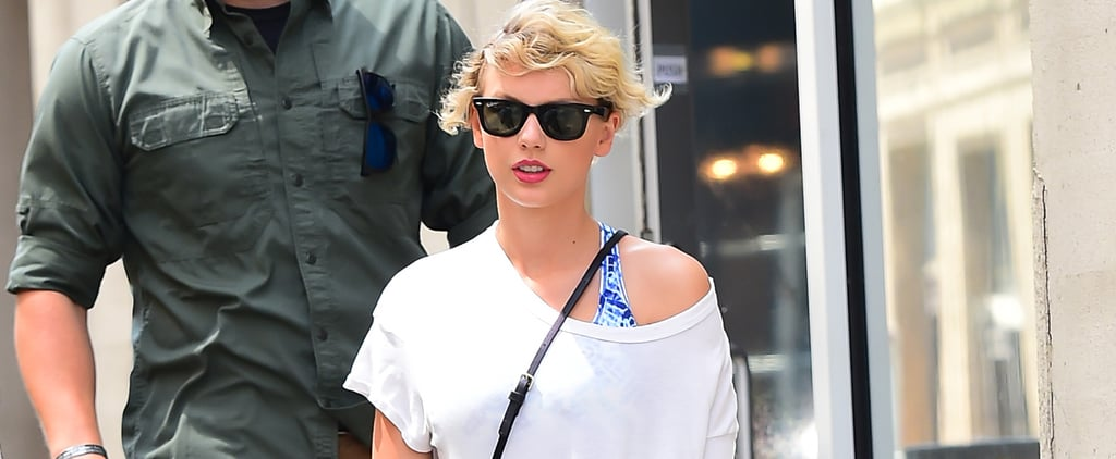 Taylor Swift's Gym Look Came Right Out of the '80s, and It'll Never Go Out of Style