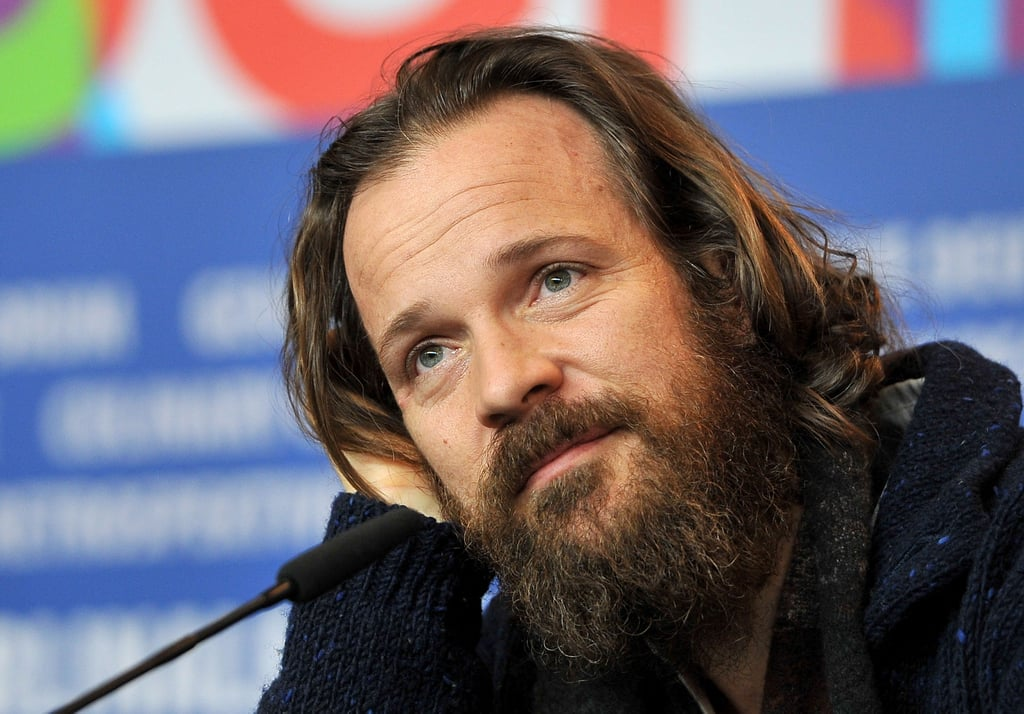 Peter Sarsgaard answered press questions on Saturday at the Berlin Film Festival.