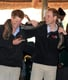 Prince Harry and Prince William held an African rock python during a  2010 visit to Botswana.