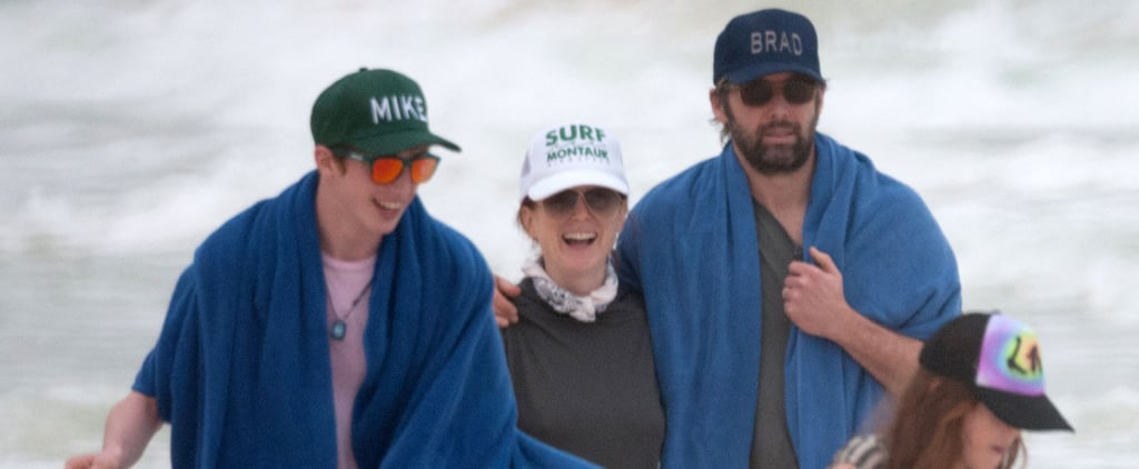 We Can't Get Over Julianne Moore's Fun Family Beach Day