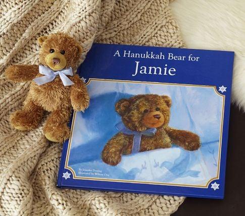 A Hanukkah Bear Personalized Book